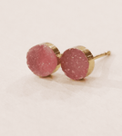 Leslie Francesca Druzy Round Mini Studs - SOLD OUT