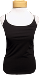 Lilla P.  Stretch Layering Camisole - Black (Size M)