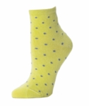 Little River Polka Dot Anklet - Citron/Steel SOLD OUT