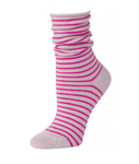 Little River Striped Slouch - Heather/Orchid