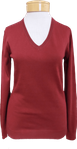 Margaret O'Leary Basic Vee - Cayenne - SOLD OUT