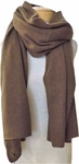 Margaret O'Leary Cashmere Travel Wrap - Whiskey