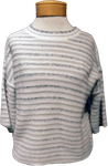 Margaret O'Leary Leesa Tee - White Stripe - SOLD OUT