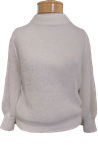 Margaret O'Leary Puff Sleeve Pullover - Ivory