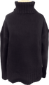 Margaret O'Leary Vera Turtleneck - Black