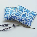 Minor Thread Organic Lavender Sachets in Kindred Fable Blue - Set of 2