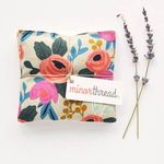 Minor Thread Organic Lavender Sachets in Rosa Floral Canvas - Set of 2