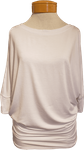 Natural Life Dolman 3/4 Sleeve Top - White
