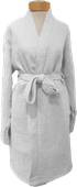 Olive & Loom Cloud Bathrobe - White