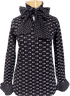 People Tree Ellis Dot Top - Black