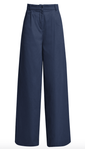 People Tree Eve Trousers - Navy (Size L)