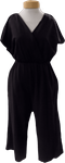 People Tree Evelyn Jumpsuit - Black (Size M)