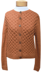 People Tree Honeycomb Cardigan - Ginger - SOLD OUT