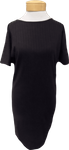 People Tree Iman Rib Dress - Black
