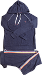 PJ Salvage Icon Long Hoody Set - Navy