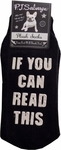 PJ Salvage If You Can Read This Socks - Black