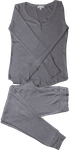 PJ Salvage Texture Lounge Set - Heather Grey