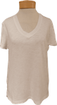PJ Salvage Short Sleeve Basics Tee - Ivory