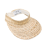 Poppy + Sage Straw Visor - Natural (SOLD OUT)