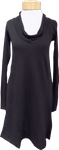 Prairie Underground Long Sleeve Falconet Dress - Black (Size XS, M & L)