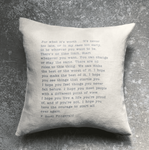 Stash Style F. Scott Fitzgerald Pillow - Tan - SOLD OUT