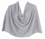 Tees by Tina Ruana Cashmere Wrap Poncho - Frost -
