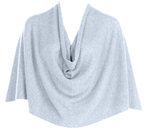 Tees by Tina Ruana Cashmere Wrap Poncho - Heather Sky Blue - SOLD OUT
