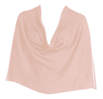 Tees by Tina Ruana Cashmere Wrap Poncho - Blush SOLD OUT