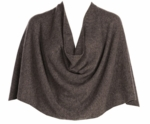 Tees by Tina Ruana Cashmere Wrap Poncho - Mink - SOLD OUT