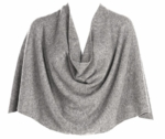 Tees by Tina Ruana Cashmere Wrap Poncho - Moon Rock - SOLD OUT