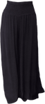 Tina Stephens Made in Italy Baylee Viscose Stretch Waist Pant - Black