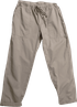 Velvet Misty Cotton Twill Straight Leg Pant - Pebble