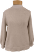 Velvet Yara Novelty Cotton Sweater - Putty