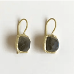Viajera Designs Palladio Earrings - Labradorite