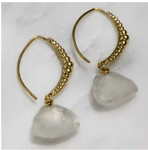 Viajera Designs Taj Earrings - Moonstone - SOLD OUT