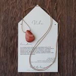 Vibe Single Stone Carnelian Necklace - SOLD OUT