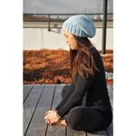 Wool & Moon Beanie - Baby Blue (SOLD OUT)