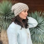 Wool & Moon Beanie - Biscuit - SOLD OUT