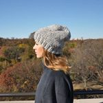 Wool & Moon Beanie - Sky Grey (SOLD OUT)