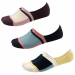Woven Pear Casual Athletic No Show Block Socks - Three Pack - SOLD OUT