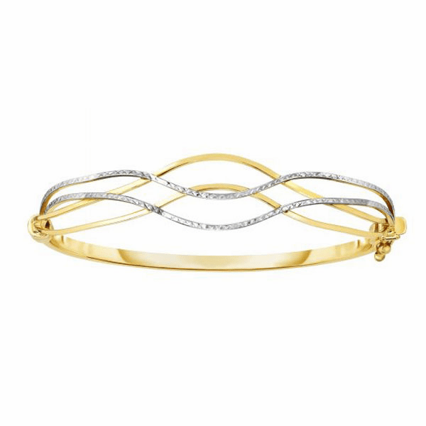 "10kt Gold 7"" Yellow Finish Bracelet"