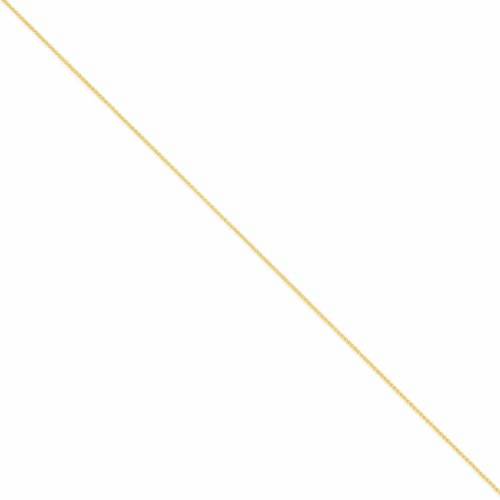 14k 1.1mm Solid Polished Spiga Chain Pen133-9