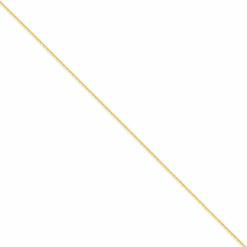 14k 1.65mm Solid D/c Cable Chain Pen141-9