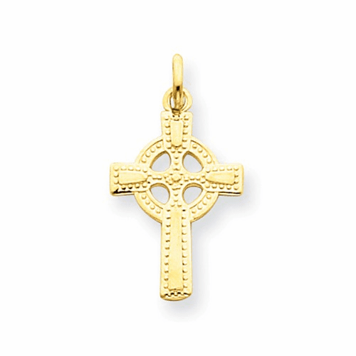 14k Celtic Cross Pendant C1940