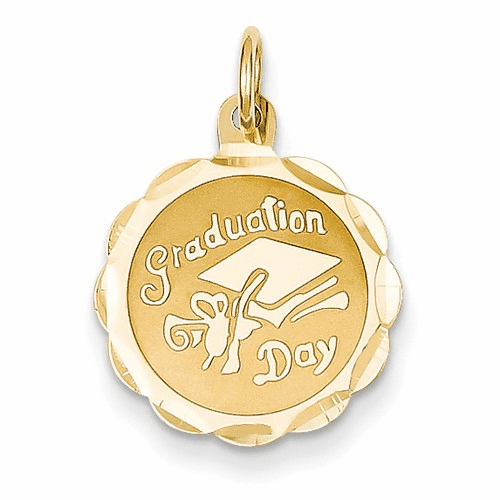 14k Graduation Day Charm Xac35
