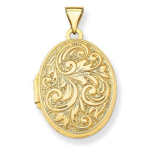 14k Love You Always Reversible Locket Xl103