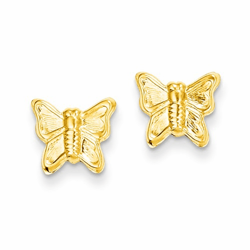 14k Madi K Butterfly Post Earrings Se2033