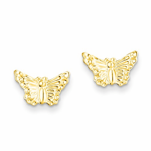 14k Madi K Butterfly Post Earrings Se2034