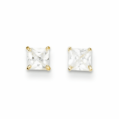 14k Madi K Cz Stud Post Earrings Se2273