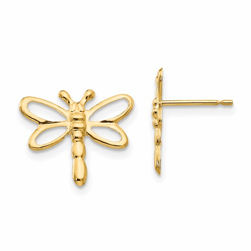 14k Madi K Dragonfly Post Earrings Se2053